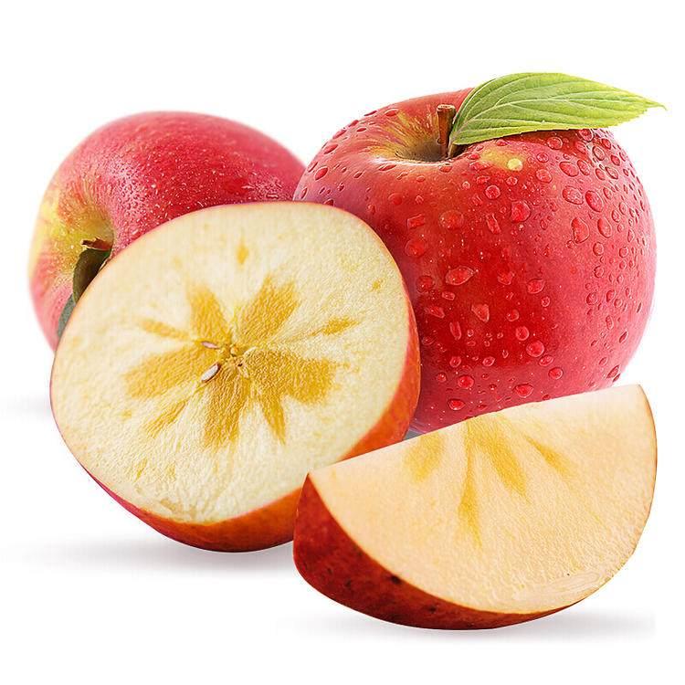 阿克苏冰糖心苹果 1箱10斤 80-90精品果 生鲜水果